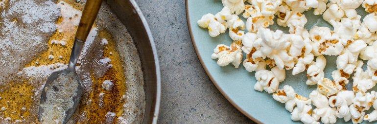 Pipoca com manteiga