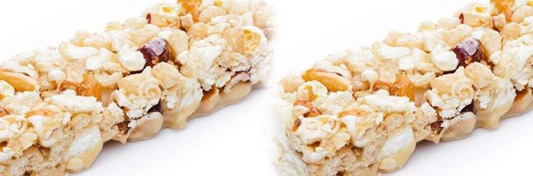 Barrinha de Pipoca Doce com Amendoim